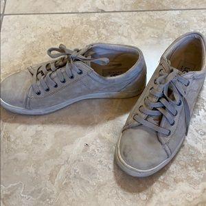 Ugg suede sneakers